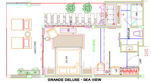 Floor Plan - Grande Deluxe-Sea View